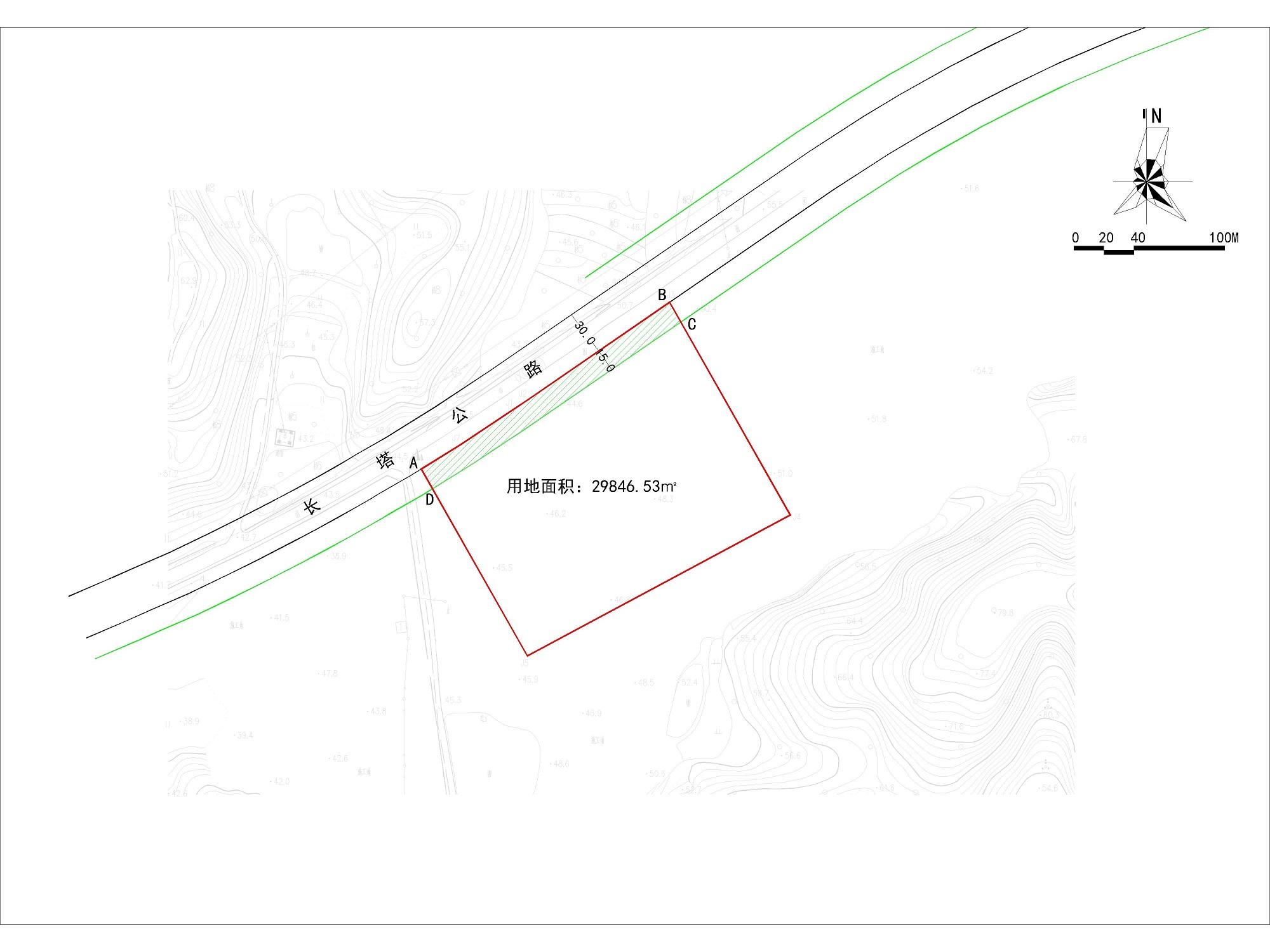 关于木兰山风景区入口服务区建设工程(综合服务区及停车场)二期项目