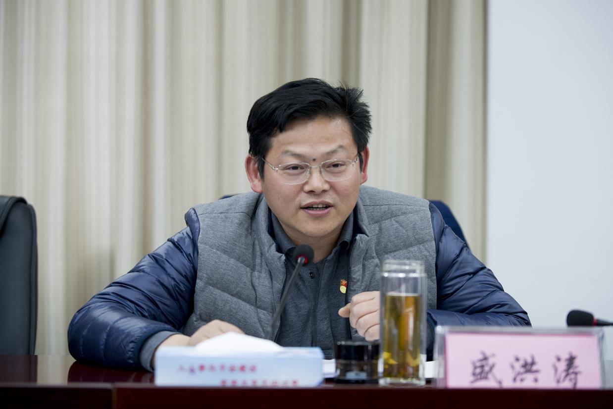 市国土规划局盛洪涛局长赴东湖风景区宣讲党的十九大精神暨现场服务—